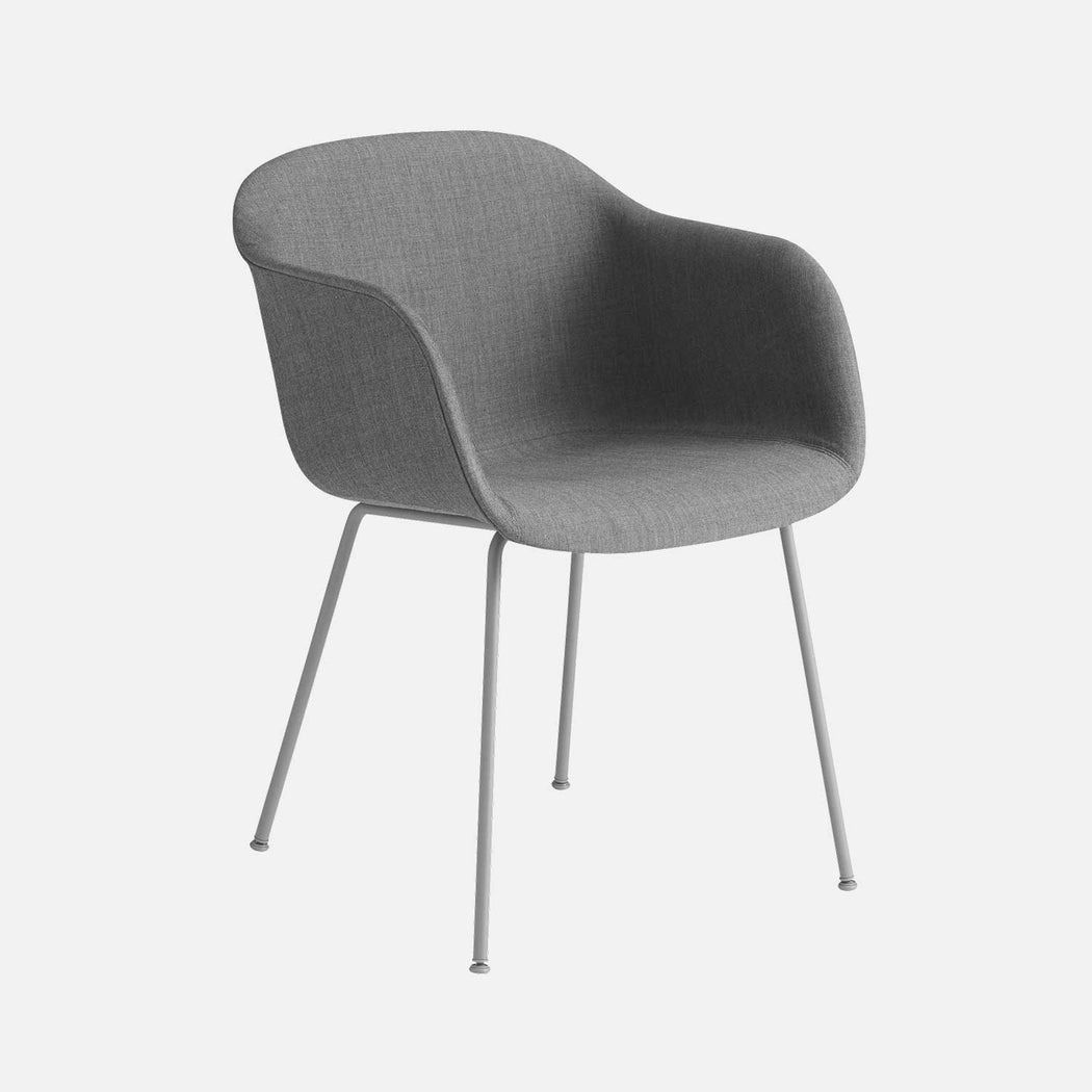 Fiber Tube Upholstered Armchair