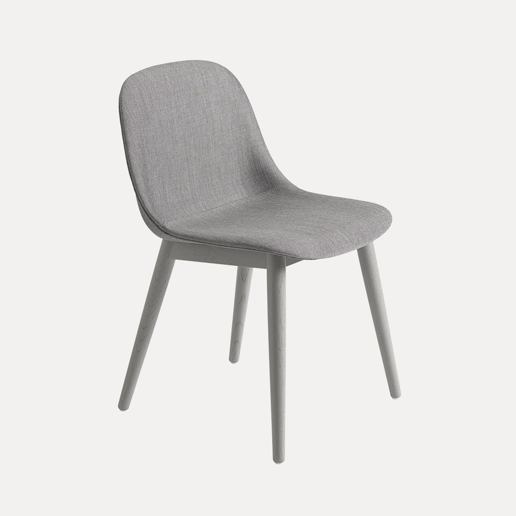 Fiber Wood Upholstered Side Chair, Remix 133/Grey