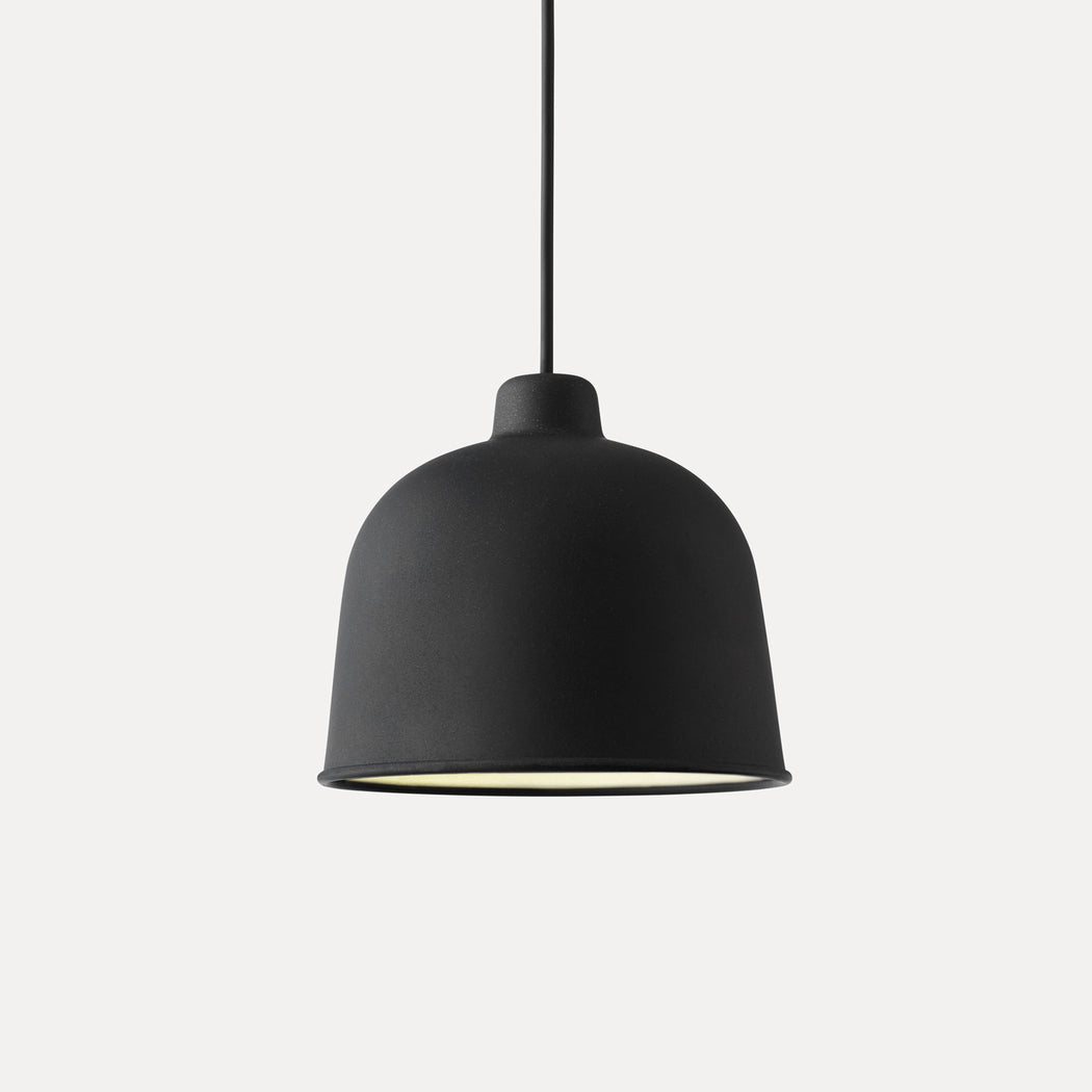Grain Pendant Light, Black