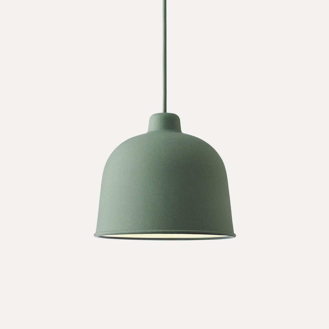 Grain Pendant Light, Dusty Green