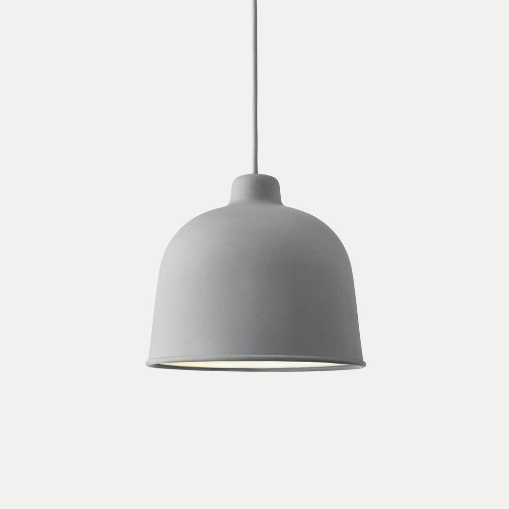 Grain Pendant Light, Grey