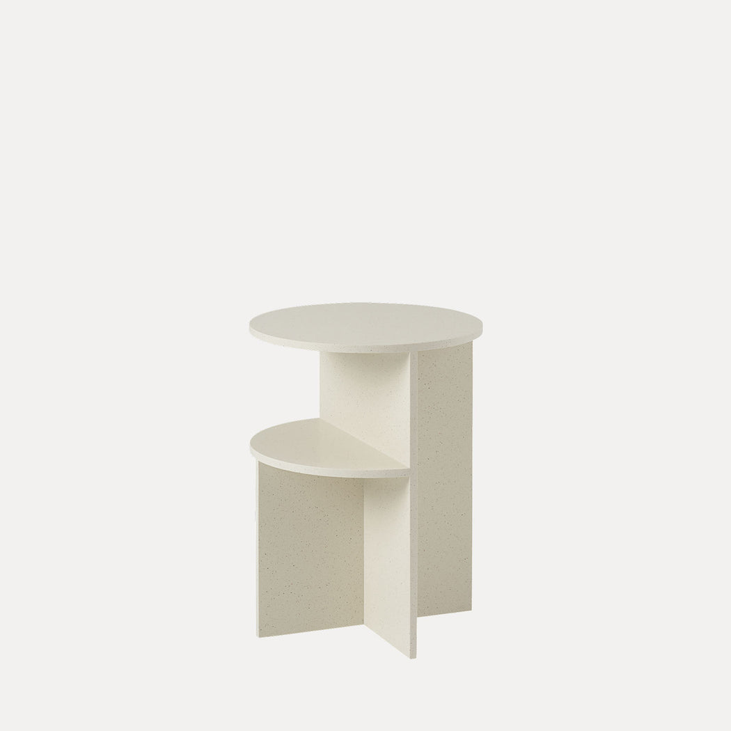 Halves Side Table, Sand