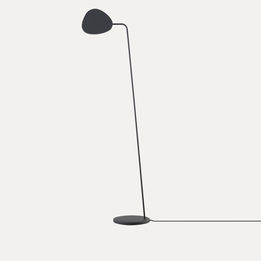 Leaf Floor Lamp, Grey