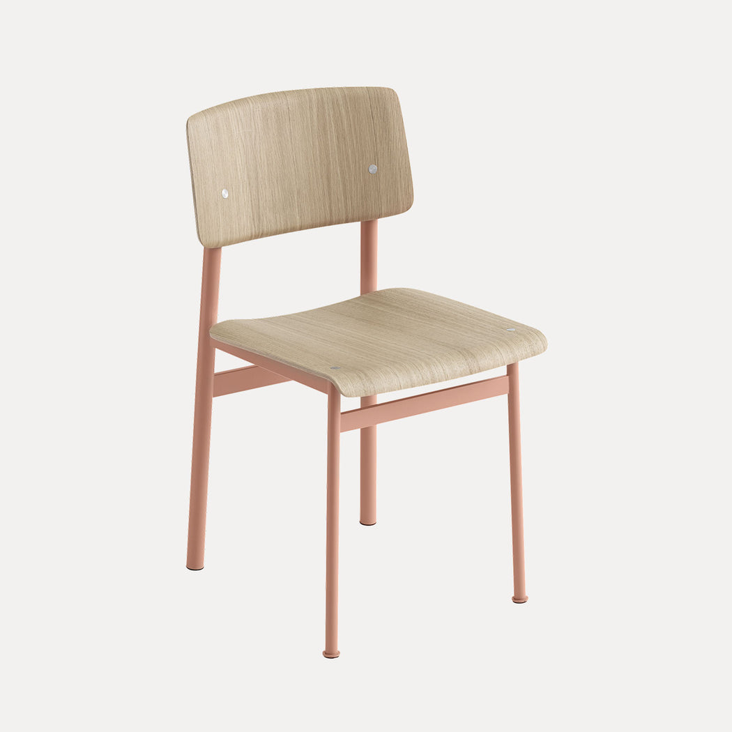 Loft Chair, Dusty Rose/Oak