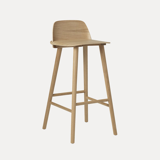 Nerd Bar Stool, Oak
