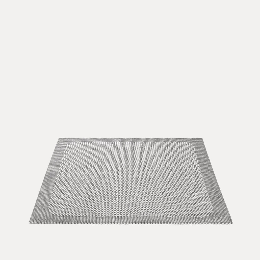 "Pebble Rug Light Grey, 5'6"" x 7'9"""