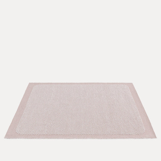 "Pebble Rug Pale Rose, 6'7"" x 9'10"""