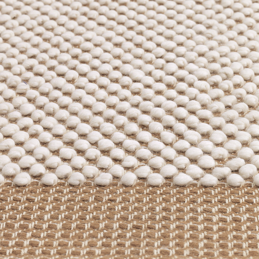 Pebble Rug Burnt Orange, Lifestyle
