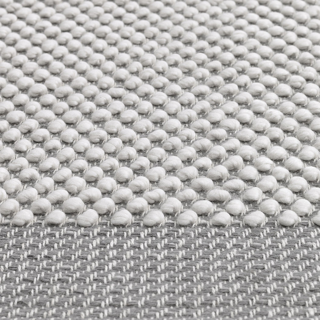 Pebble Rug - Light Grey