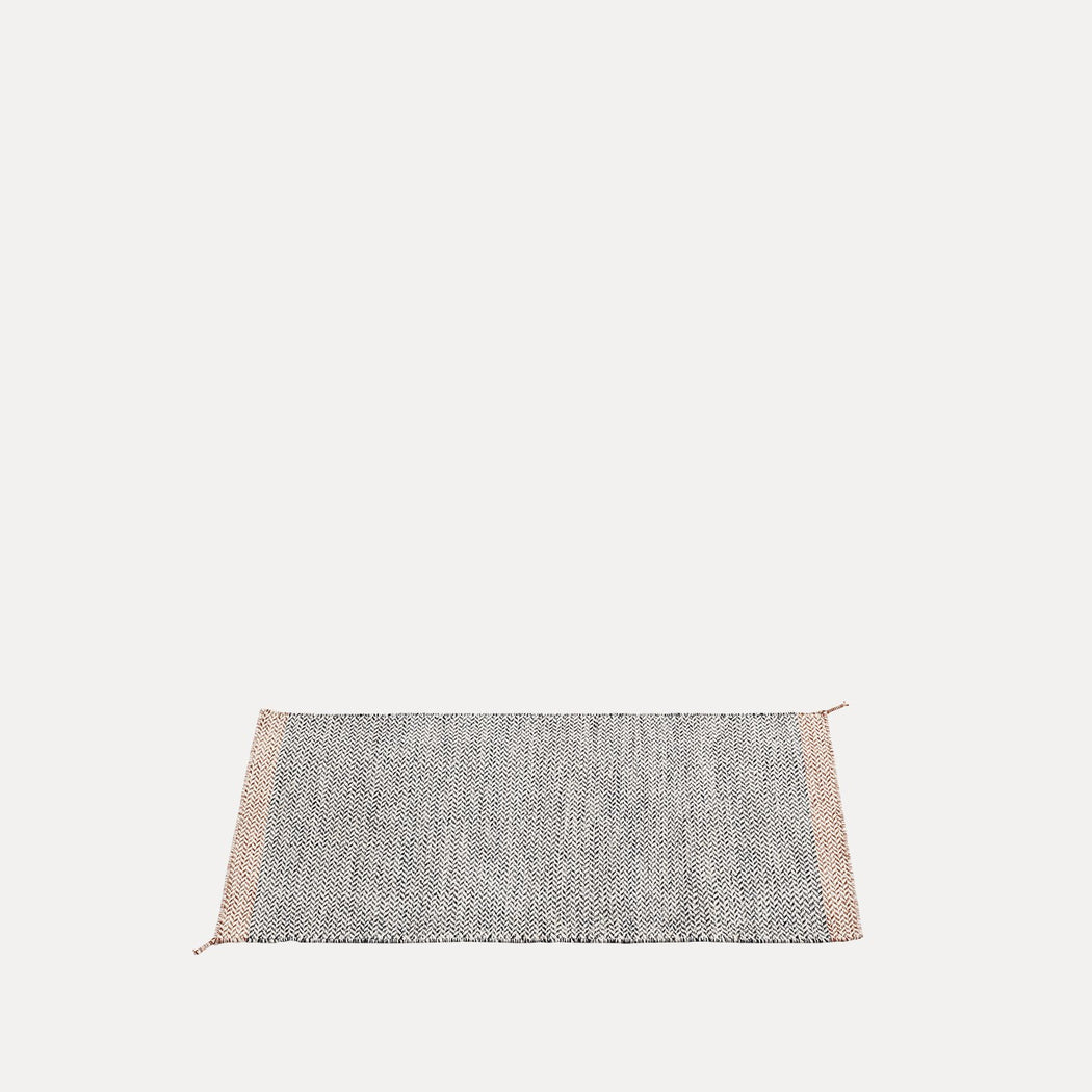 Ply Rug - Black/White