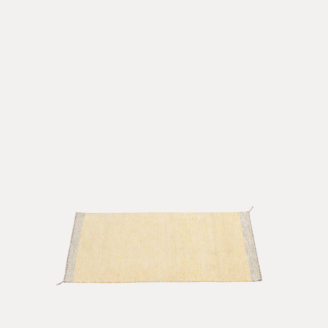 "Ply Rug Yellow, 33.5"" x 55"""