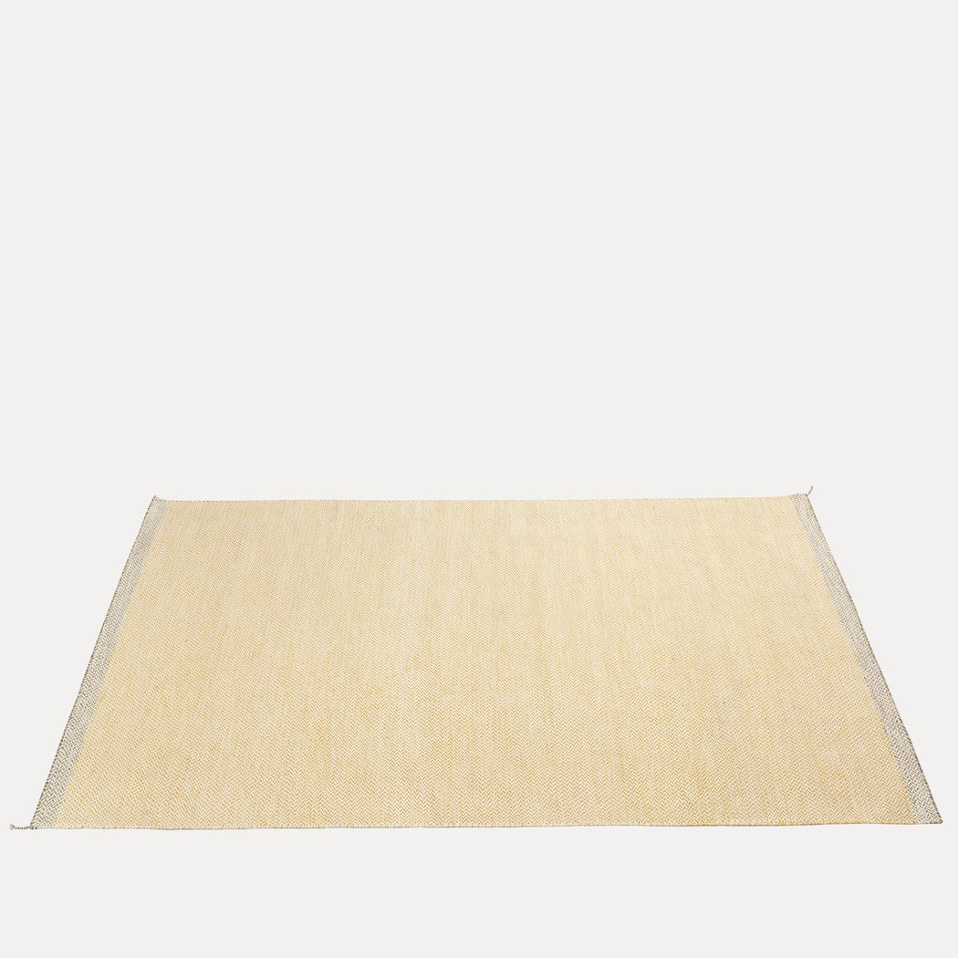 "Ply Rug Yellow, 6'5"" x 9'8"""