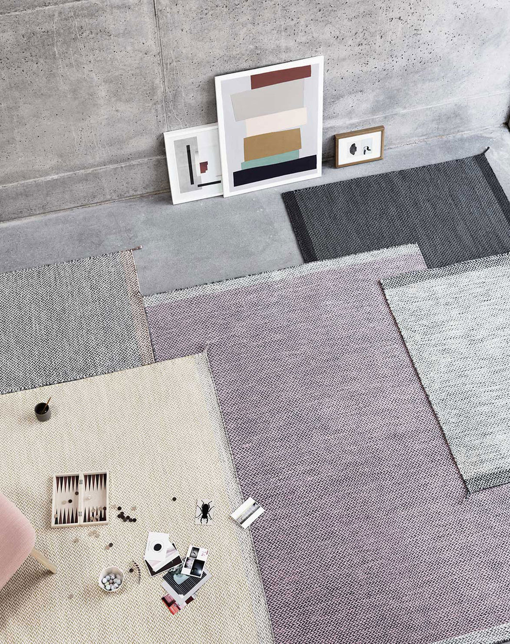 Ply Rug in room