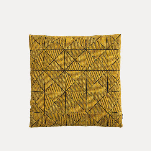 Tile Pillow, Yellow
