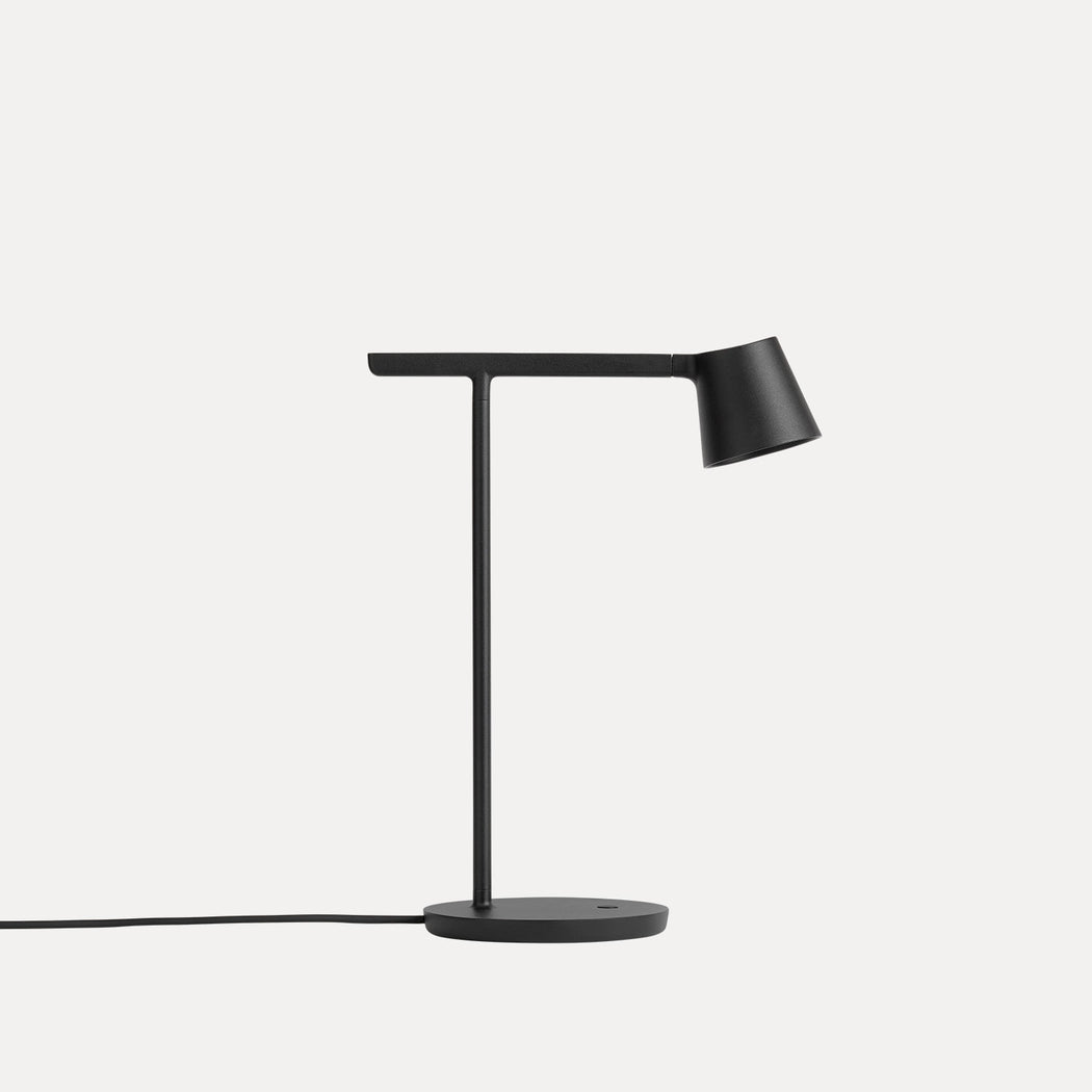 Tip Table Lamp in Black