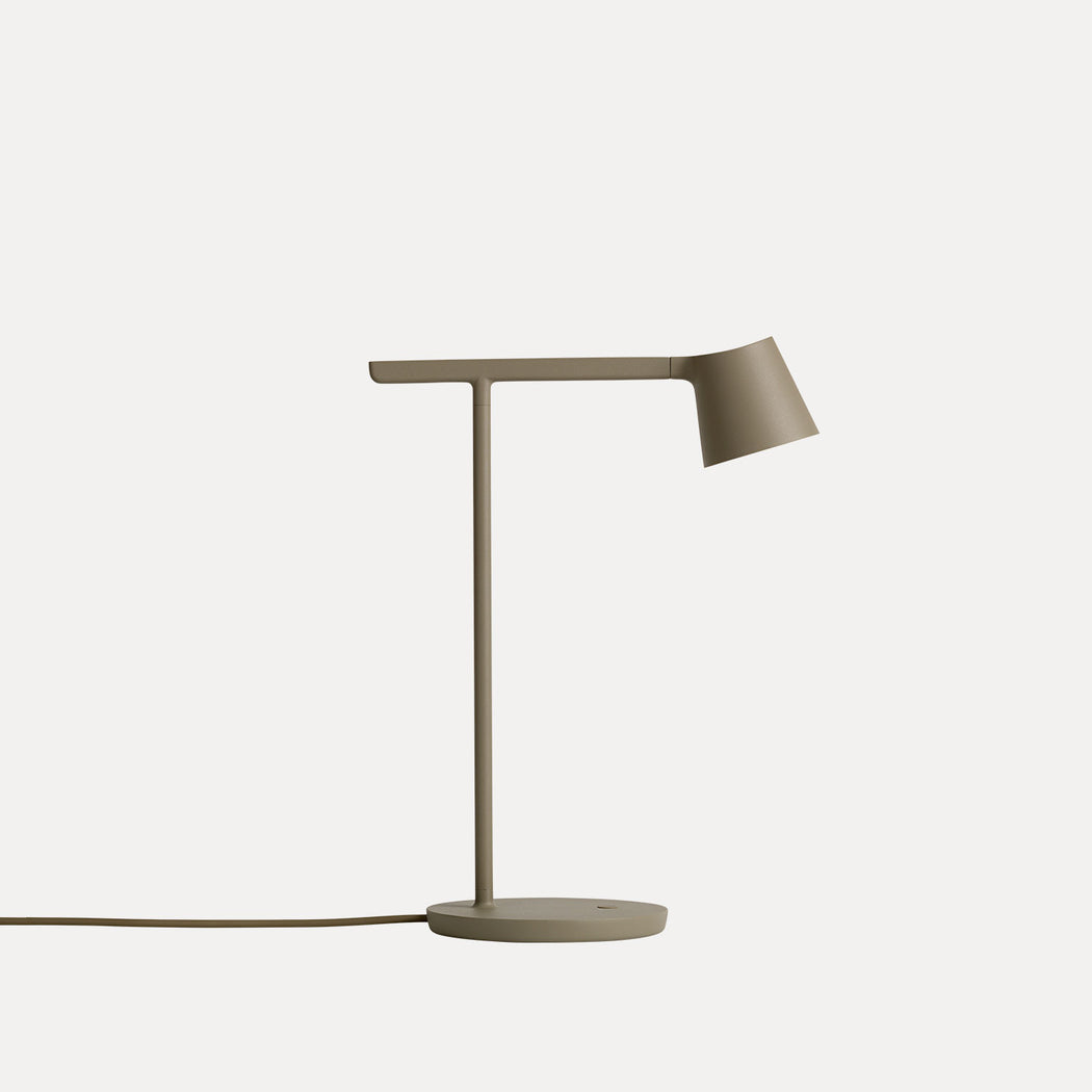 Tip Table Lamp in Olive