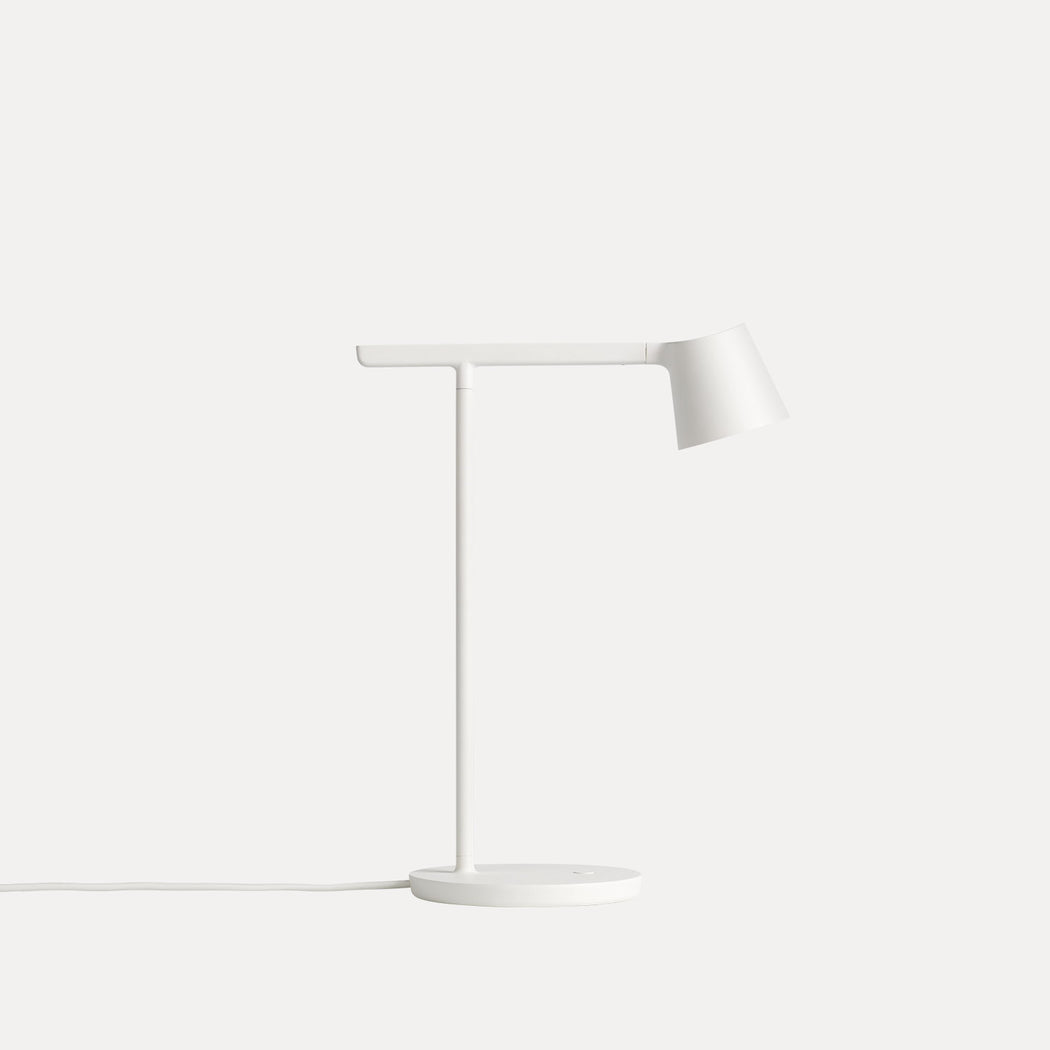 Tip Table Lamp in White