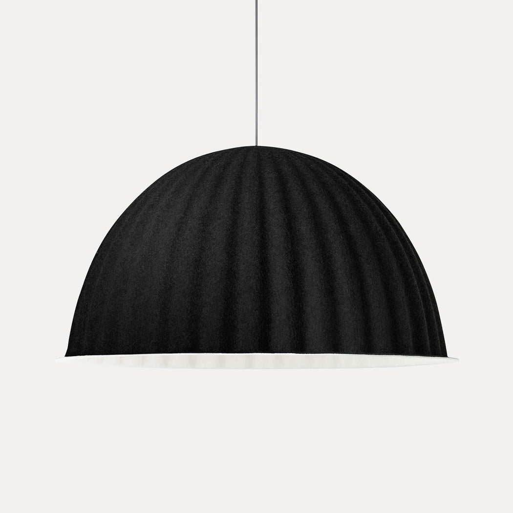 "Muuto Under The Bell Pendant Light, 32"", Black"