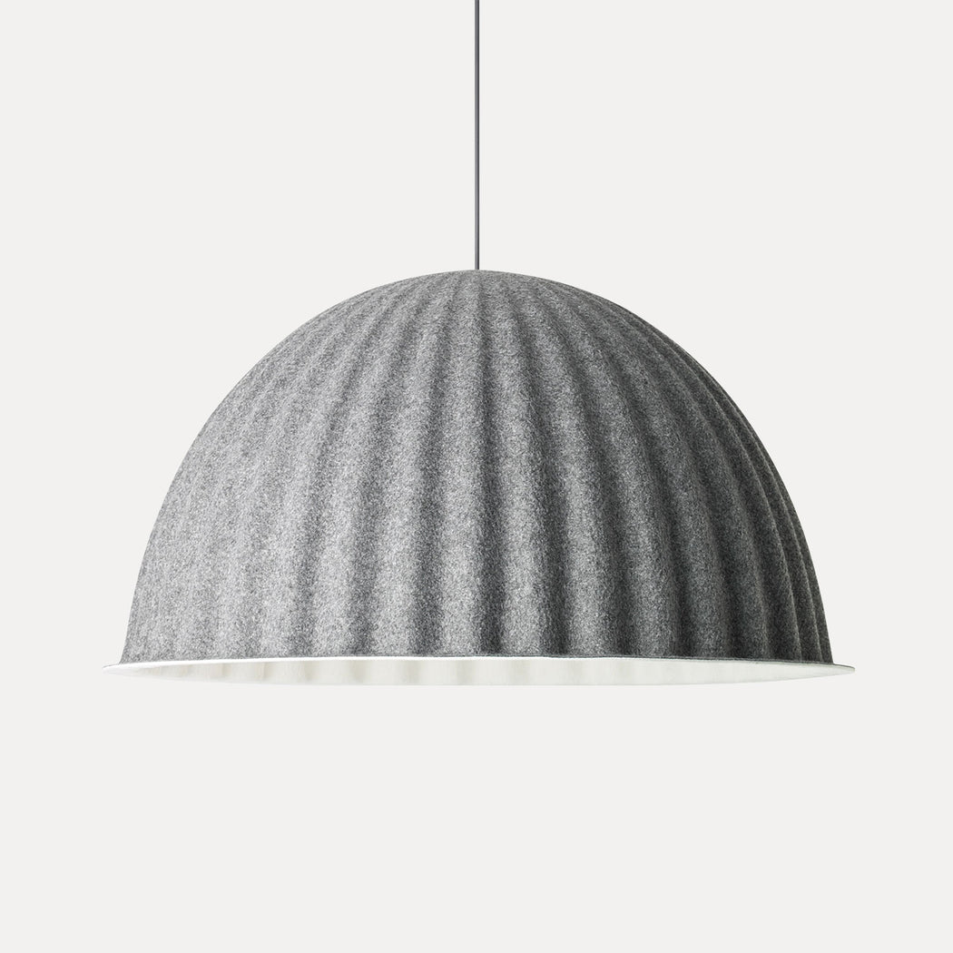 "Muuto Under The Bell Pendant Light, 32"", Grey"