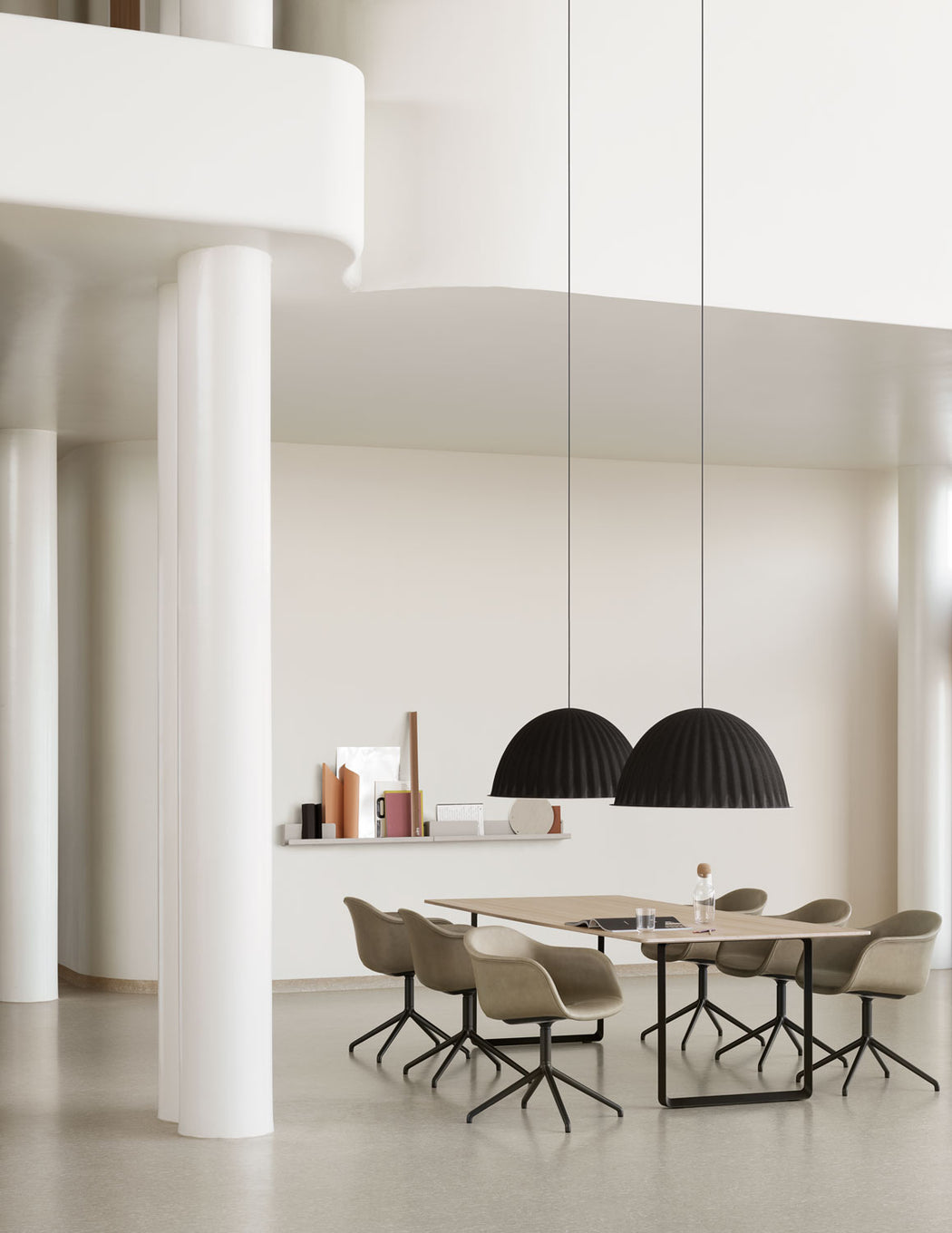 Modern Minimalist Muuto Under The Bell Pendant Light