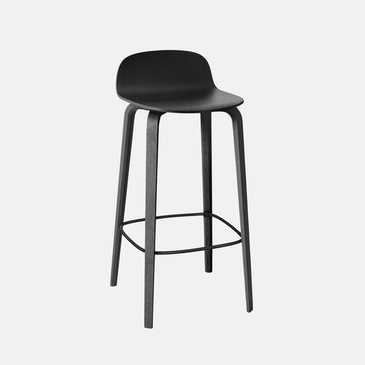 Visu Bar Stool, Black