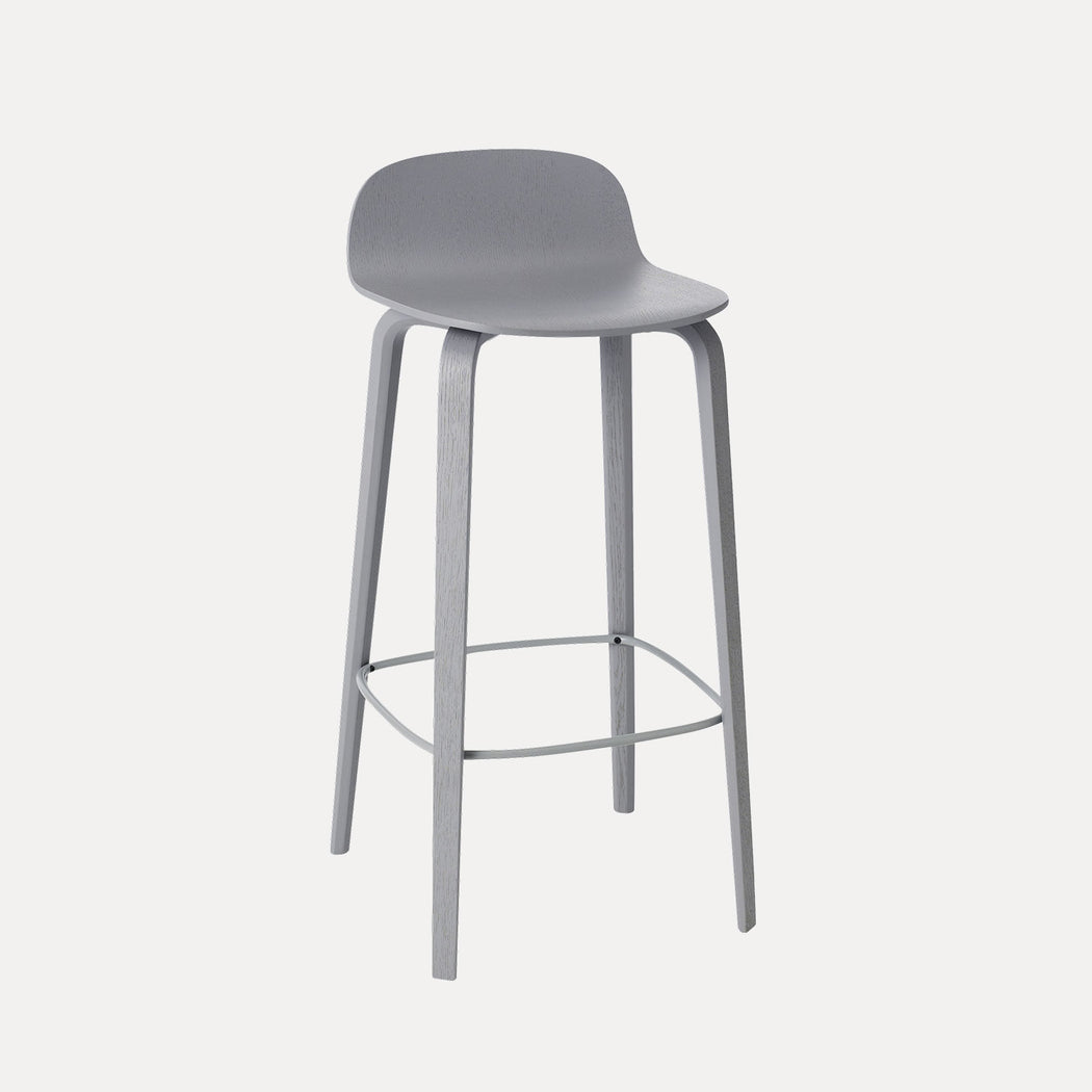 Visu Bar Stool, Grey