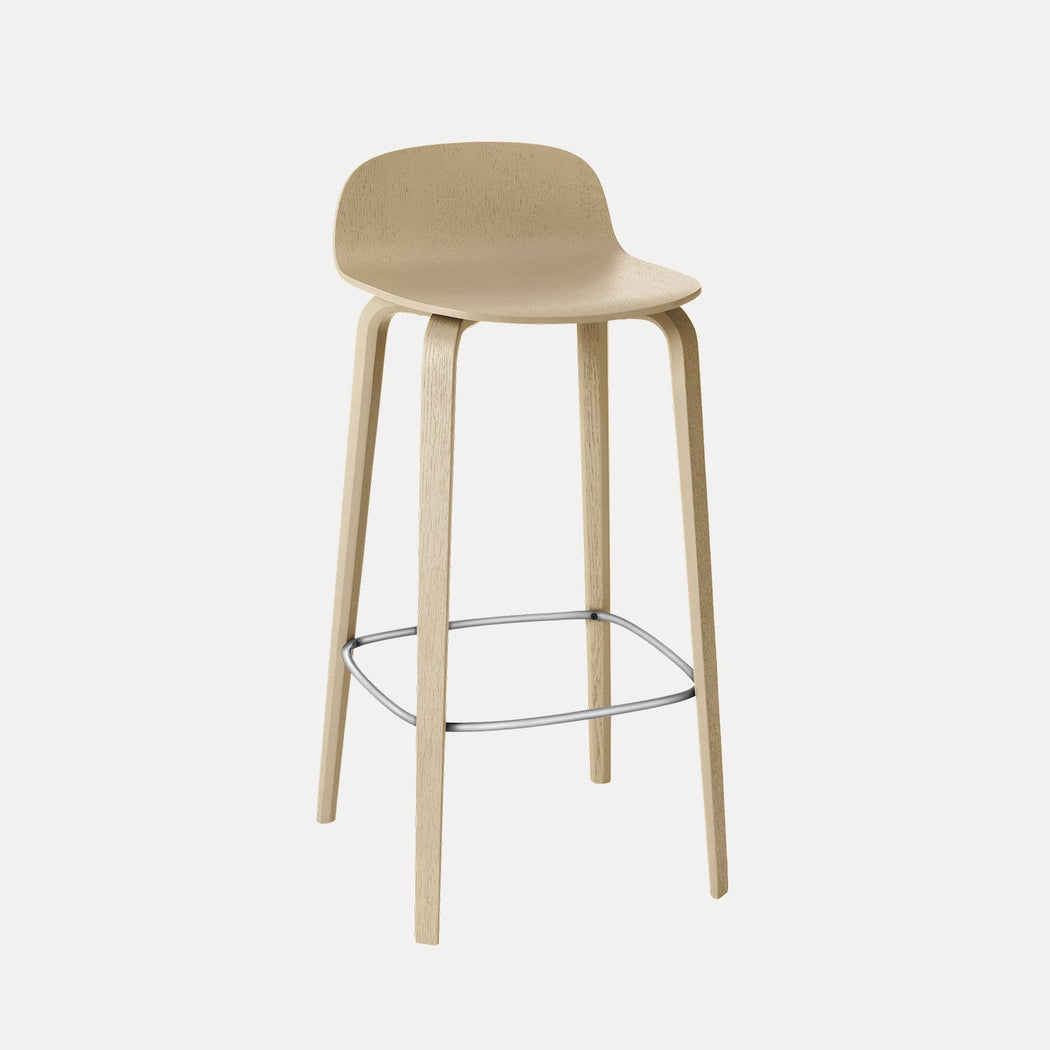 Visu Bar Stool, Oak