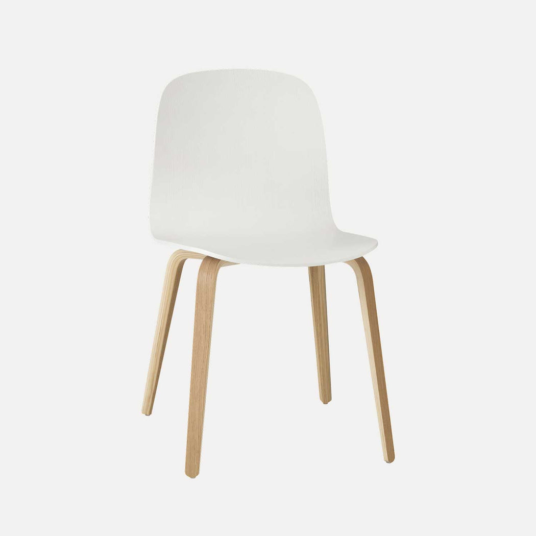 Visu Chair, White/Oak