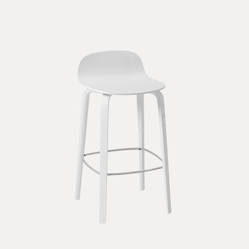 Visu Counter Stool, White