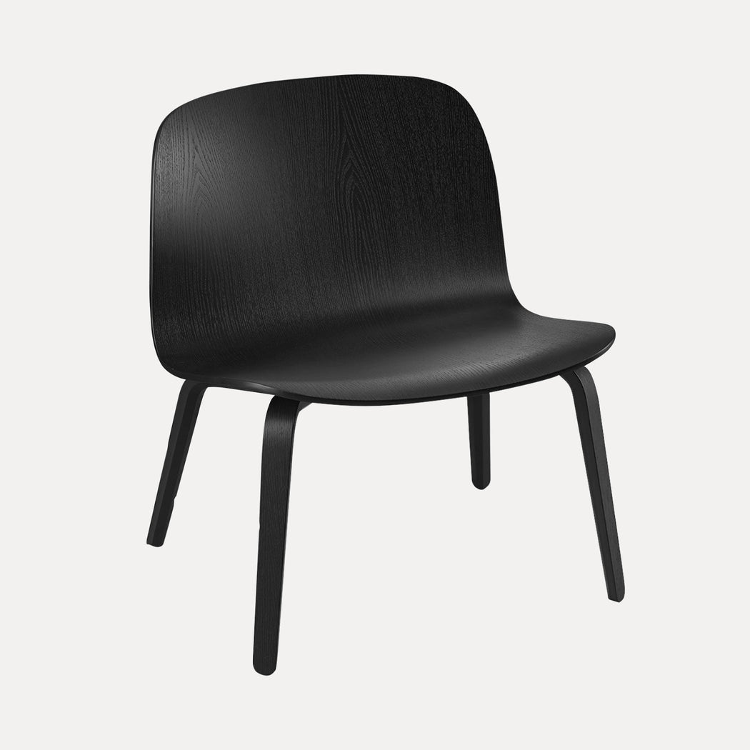 Visu Lounge Chair, Black