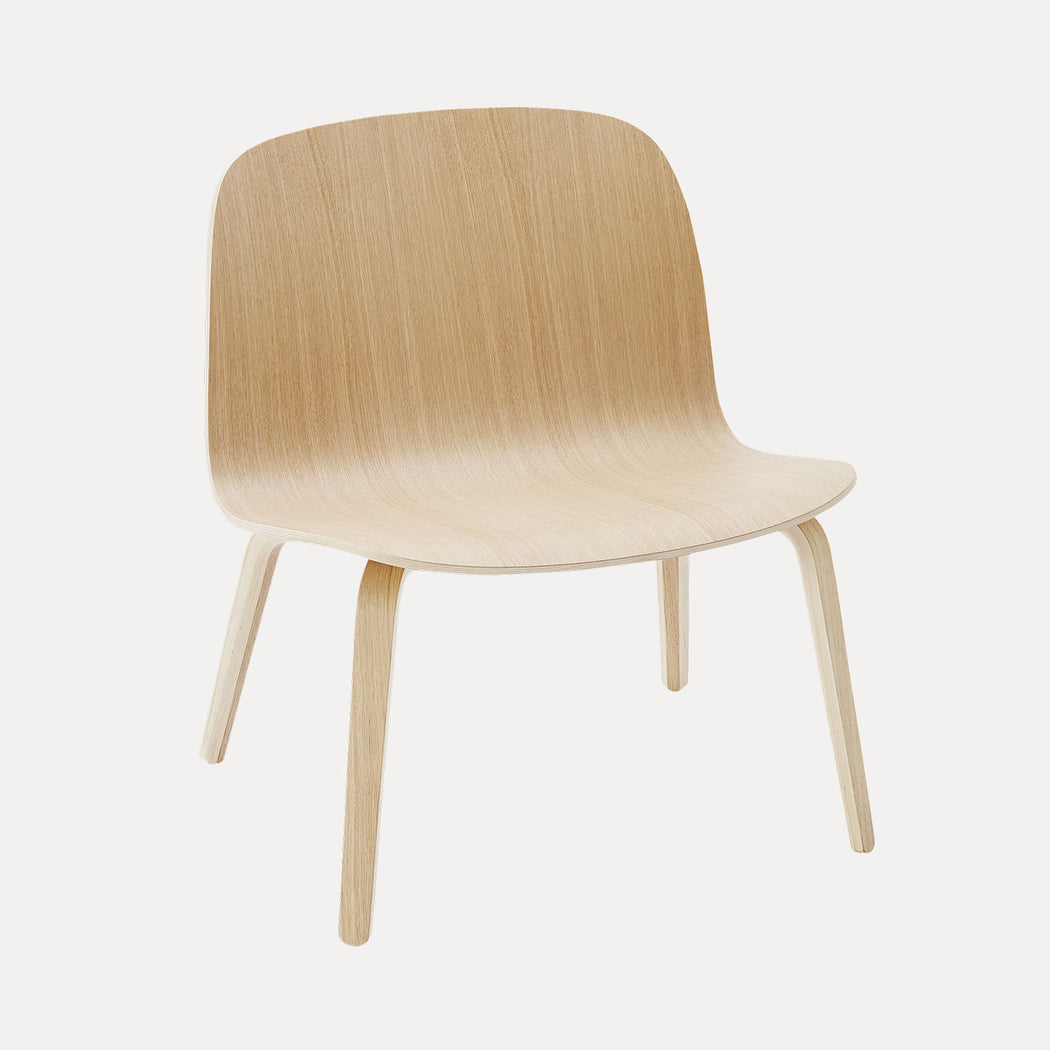 Visu Lounge Chair, Oak
