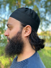 Pleated Kufi- Black