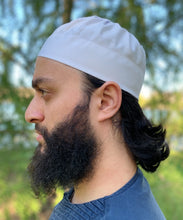 Pleated Kufi- White