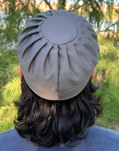 Pleated Kufi- Stonewall Gray