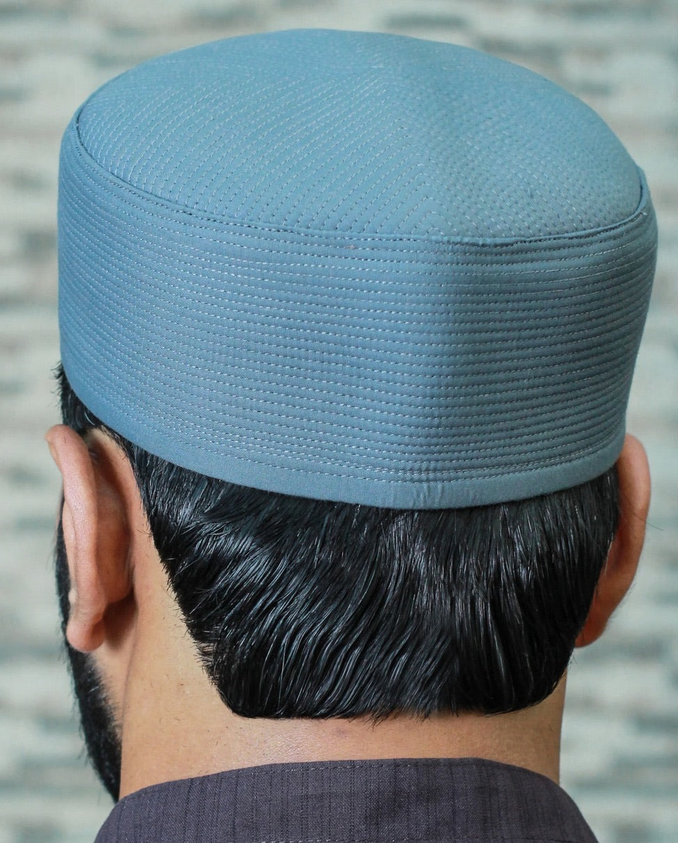 Pleated Stone Wall Kufi