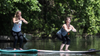 Spotlight on Philly.com - We tried it: Stand-up paddleboard yoga with Aqua Vida