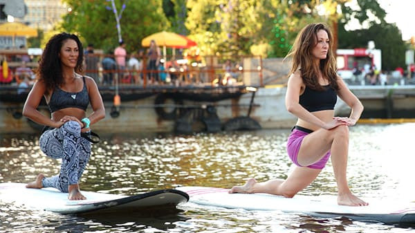 AquaFLOW™ Floating SUP Yoga Classes
