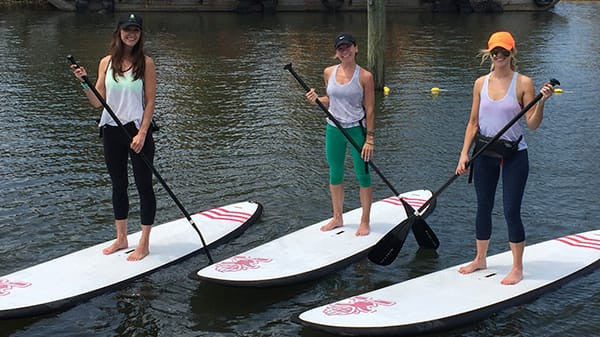 Group & Corporate SUP Yoga Classes