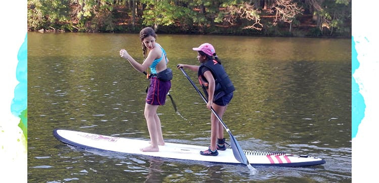 Kids Floating SUP Yoga Classes