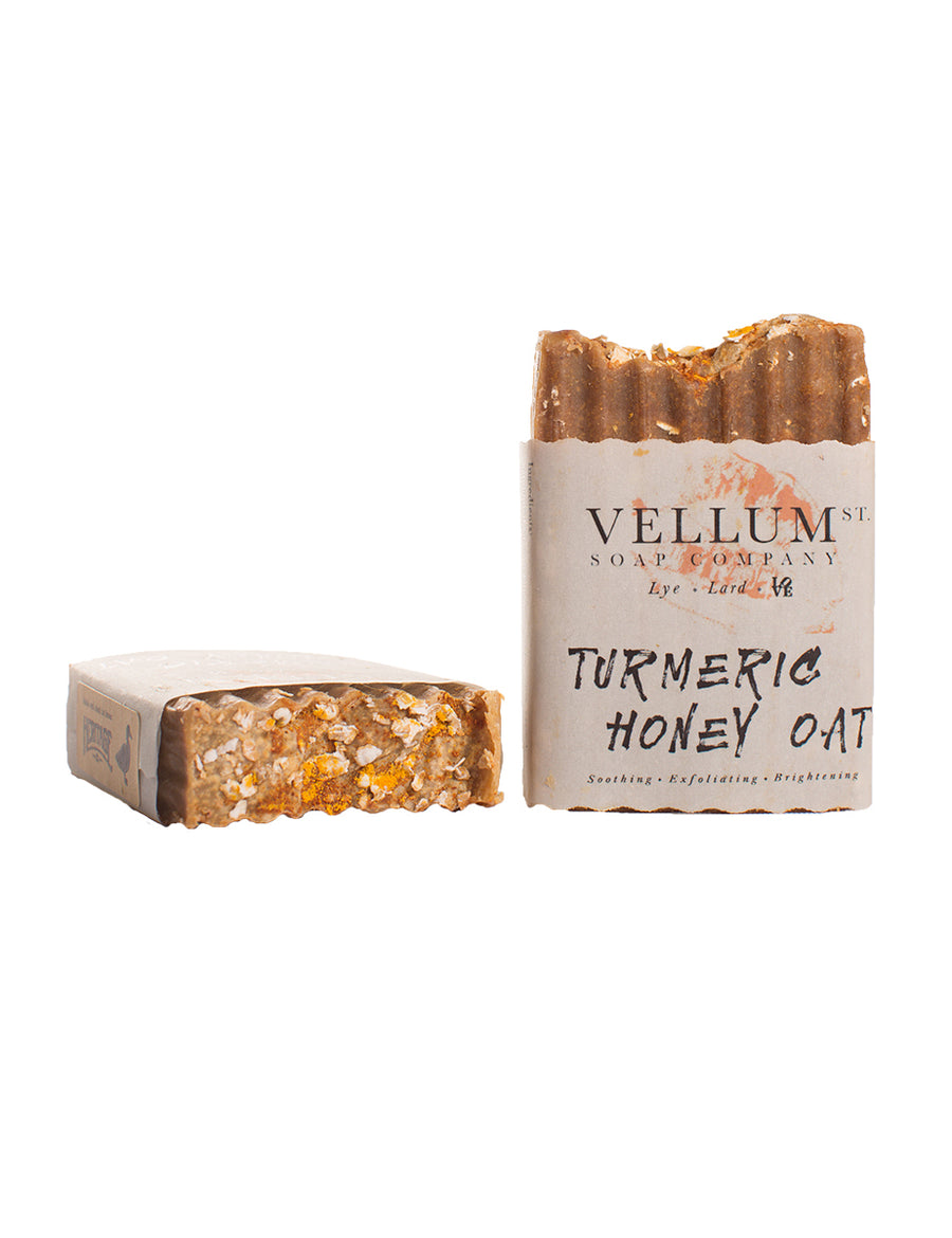 Tumeric Honey Oat Soap Bar