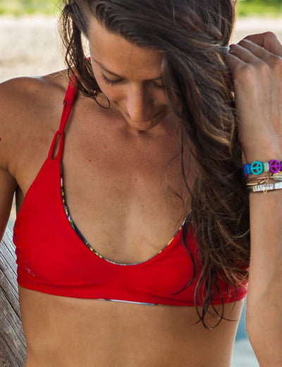 Aqua Vida Reversible Red Top
