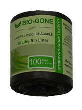 10 Litre (Small) Landfill Biodegradable Kitchen Garbage Bag (Wholesale available)