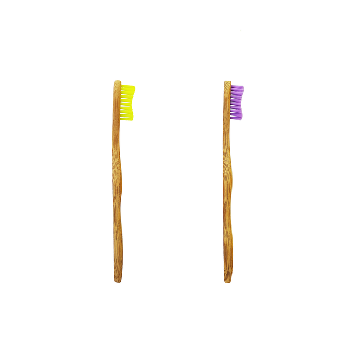 Biodegradable Bamboo Kids Toothbrush - Lil' Limon or Mystica (Ages 5 - 10)