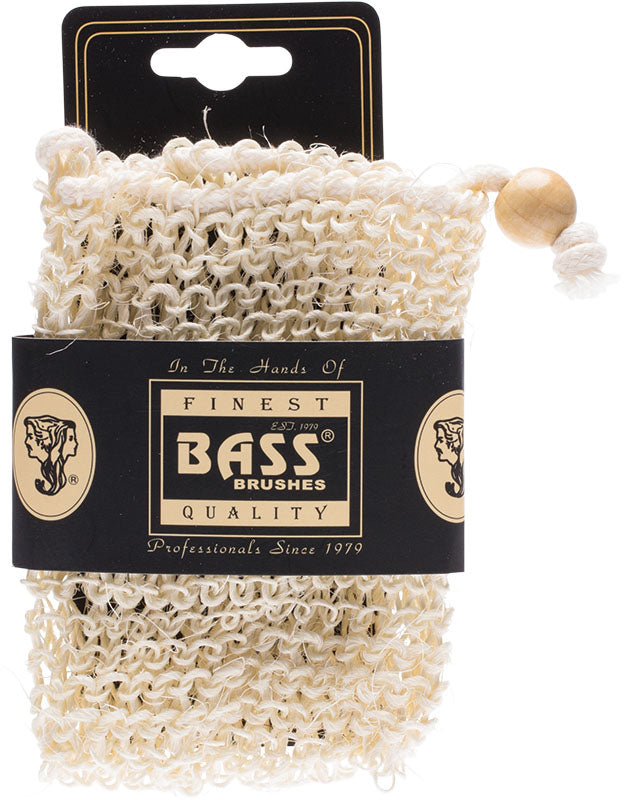 Bass Brushes Sisal Soap Holder Pouch
