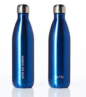 Insulated Stainless Steel Bottle 750ml - BLUE