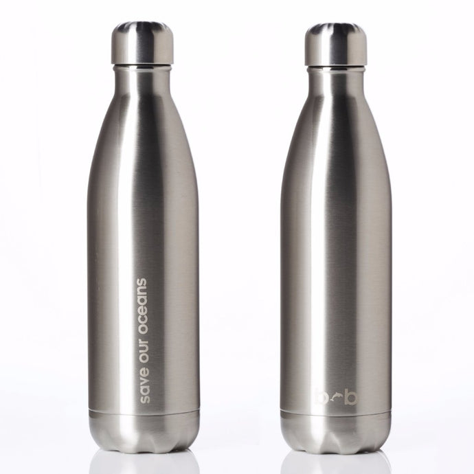 Insulated Stainless Steel Bottle 750 Ml - Silver