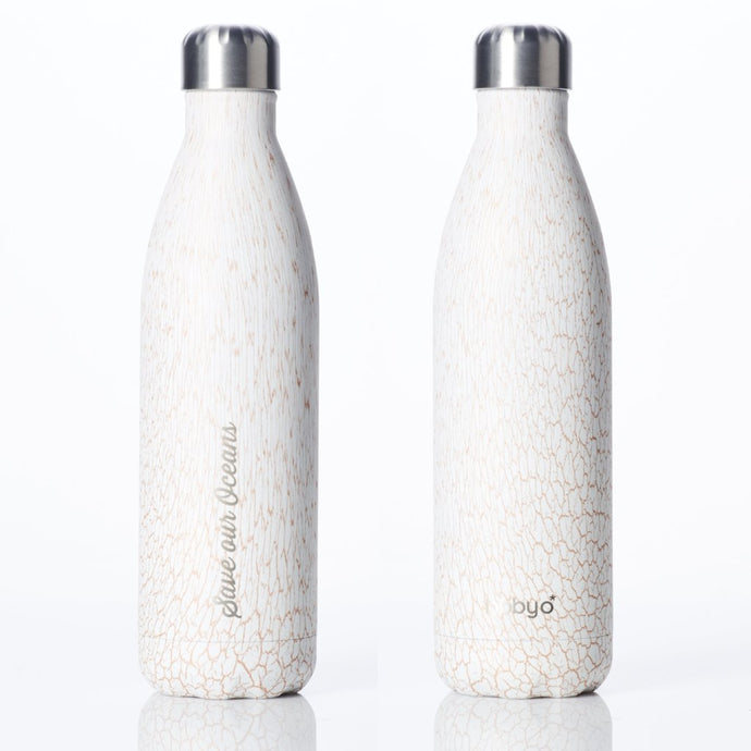 BBBYO Insulated Stainless Steel Bottle 750ml - Whitesand
