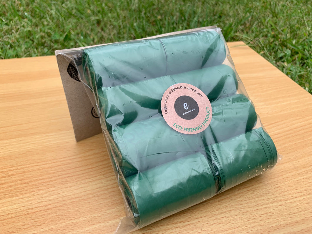 Landfill Biodegradable Doggy Bags 8 x Mini Rolls, 160 bags (Wholesale available)
