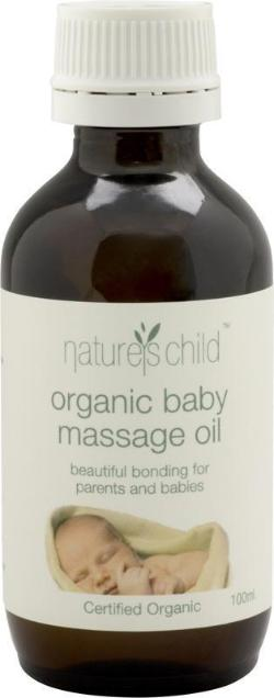 Organic Baby Massage Oil - 100ml