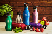 Stainless Steel Drink Bottle 1000 ml - Purple
